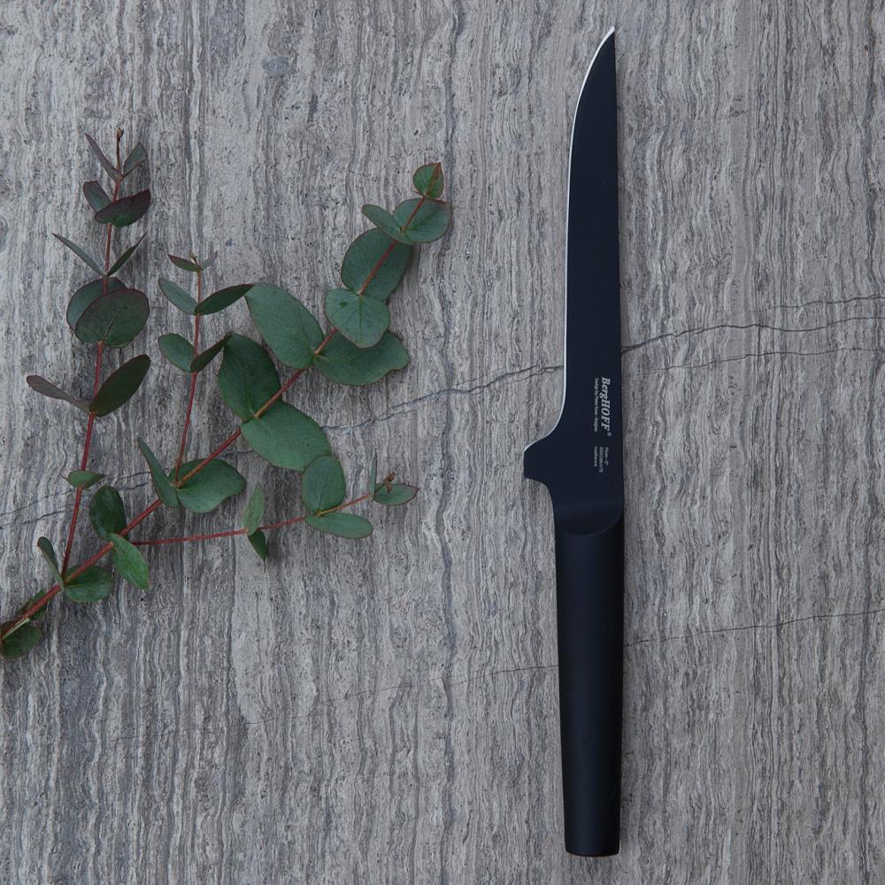 Ron нож для выемки костей 15 см (черный) - 2