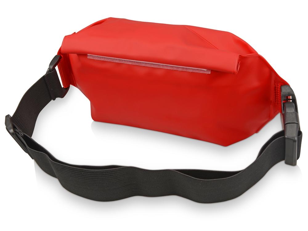 Сумка на пояс «Vert», красный, PVC - 1