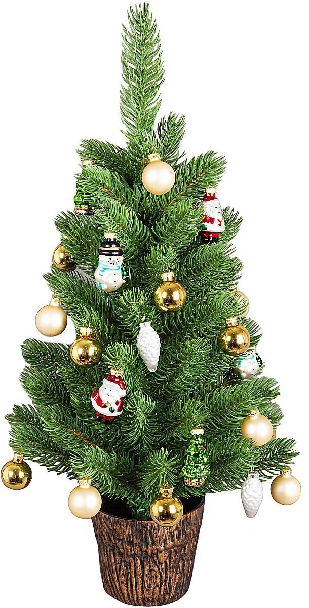 """FT-XT-SET3 Набор украшений """"с ёлкой Mister Christmas (цвет: разноцветный) с лого «РСК МИГ»"""" FT-XT-SET1 - 1"""