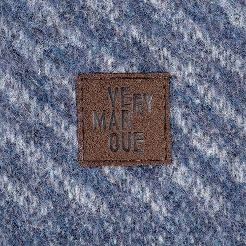 Плед Morena, синий 120*180 см альпака - 1