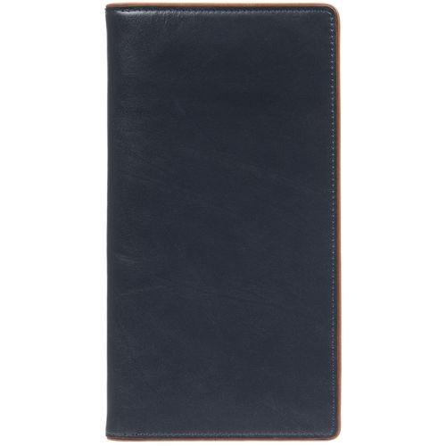 Дорожный органайзер Kalsa Palermo, синий 23*12,5*2,8 см натуральная кожа - 3
