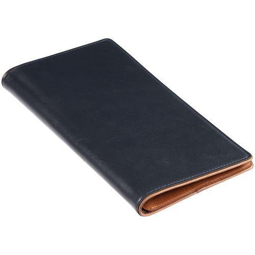 Дорожный органайзер Kalsa Palermo, синий 23*12,5*2,8 см натуральная кожа - 1