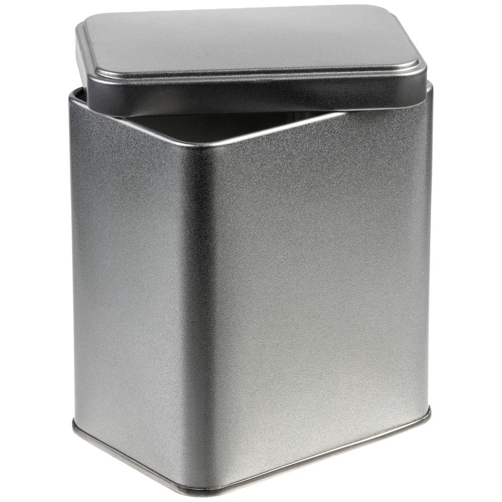 Коробка прямоугольная Jarra, серебро, 9x7x11 см, жесть - 1