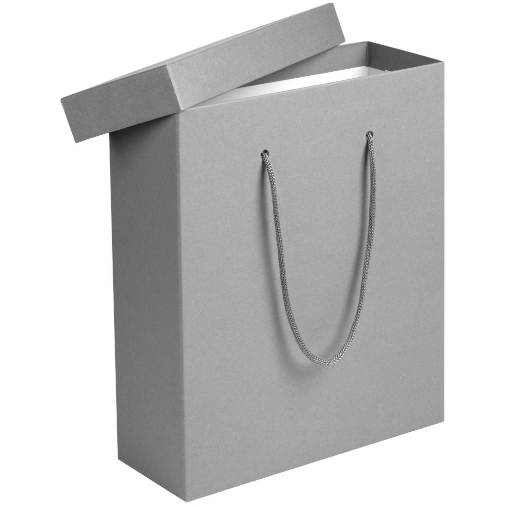 Коробка Handgrip, большая, черная 27x10x32 см, переплетный картон - 1