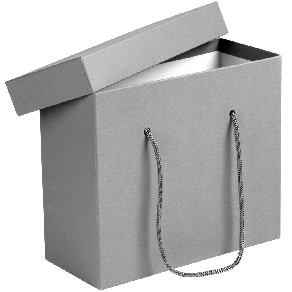Коробка Handgrip, малая, синяя 23x10x20 см, переплетный картон - 1