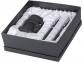Набор: блекмэн Джей, ручка шариковая, автоматический карандаш, блекмэн- прорезиненный пластик/ручка и карандаш- металл - 3