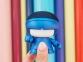 Портативная колонка Bluetooth «mini XboyMetallic», синий, АБС пластик - 2
