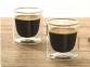 Набор стаканов из двойного стекла тм ALFI 80ml, в наборе 2 шт. - 1