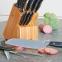 Набор ножей 15пр кованные - 10