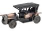 Набор «Ретро-автомобиль», бронзовый с чернением/золотистый, металл/дерево - 1