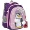 """Ранец GRIZZLY школьный, укрепленные лямки, для девочек, """"Пингвин"""", 36х28х20 см, RAz-186-4/1 - 2"""
