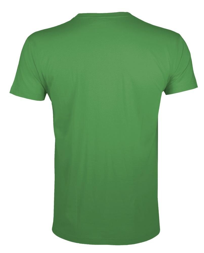 Футболка мужская приталенная Regent Fit 150, ярко-зеленая - 1