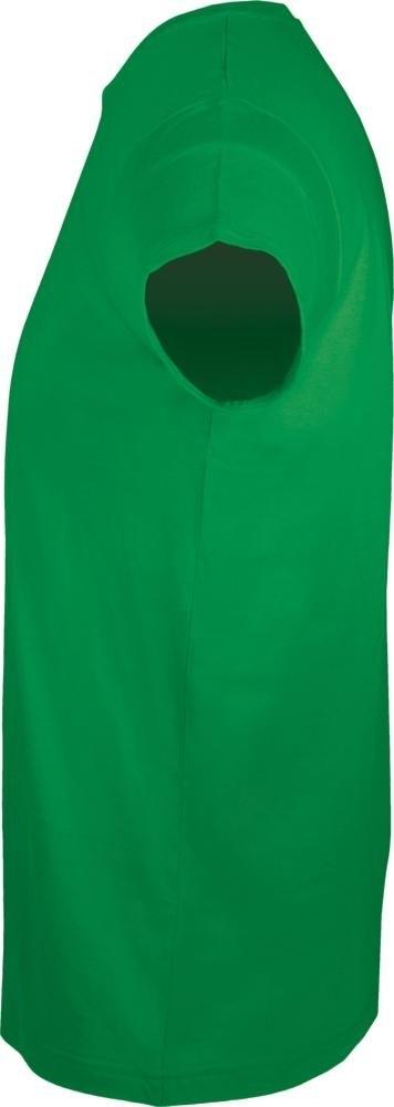 Футболка мужская приталенная Regent Fit 150, ярко-зеленая - 2