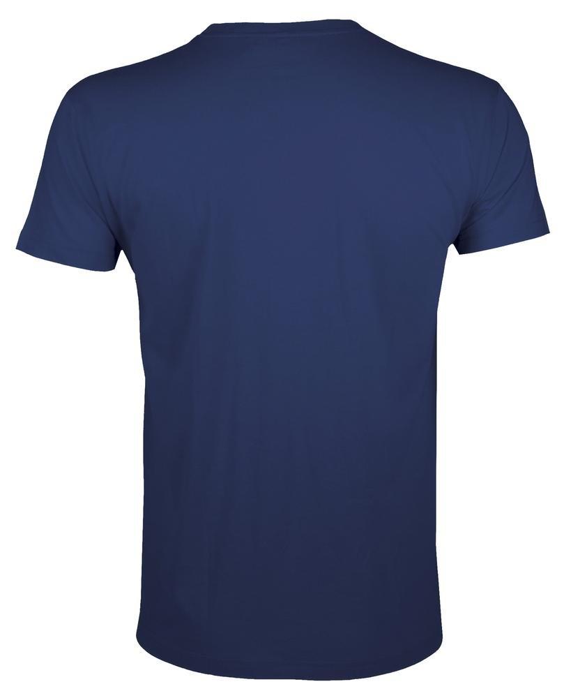 Футболка мужская приталенная Regent Fit 150, темно-синяя - 1