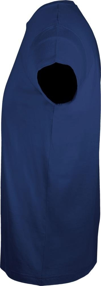 Футболка мужская приталенная Regent Fit 150, темно-синяя - 2
