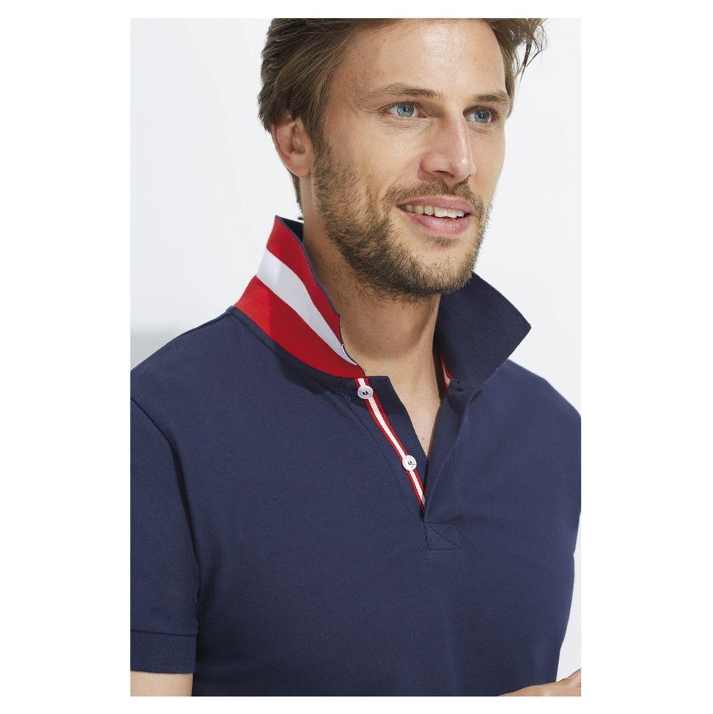 Рубашка поло мужская Patriot 200, бордовая - 7