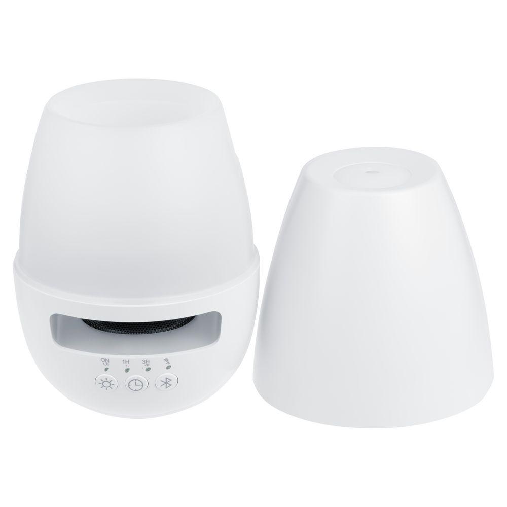 Увлажнитель с колонкой и подсветкой tuneMist, белый - 5