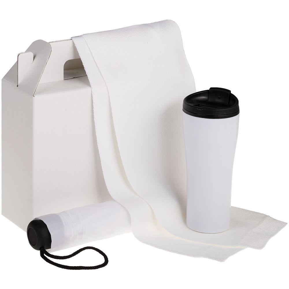 Коробка In Case M, белый, самосборная, 26,3х9,2х27 см, микрогофрокартон - 2
