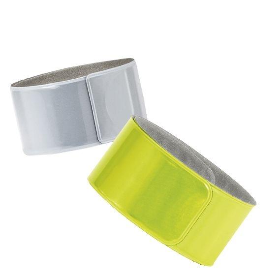 Светоотражающий браслет Lumi, желтый неон - 1