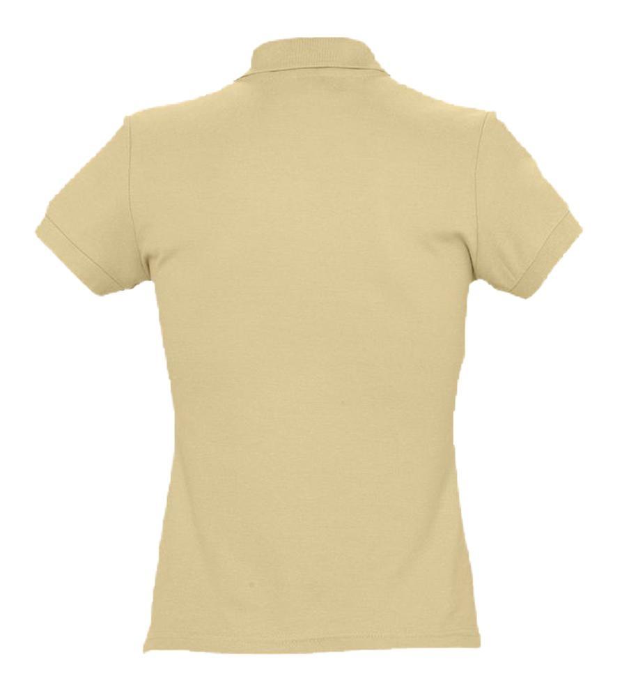 Рубашка поло женская Passion 170, бежевая - 2