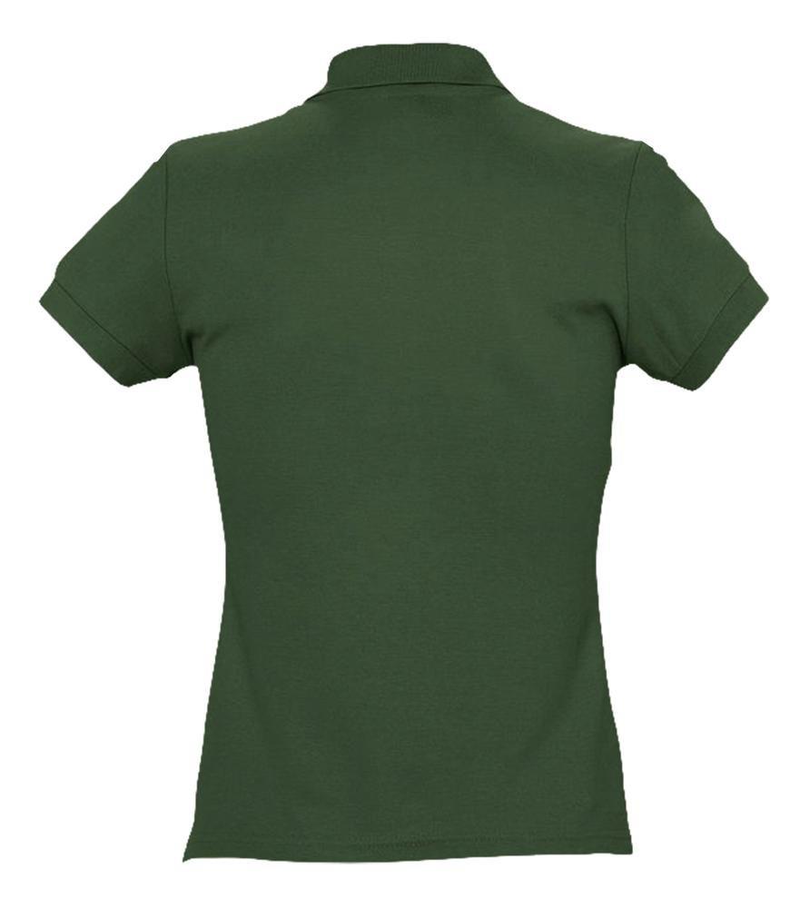 Рубашка поло женская Passion 170, темно-зеленая - 2