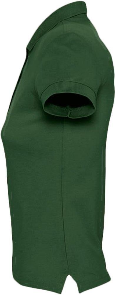 Рубашка поло женская Passion 170, темно-зеленая - 3