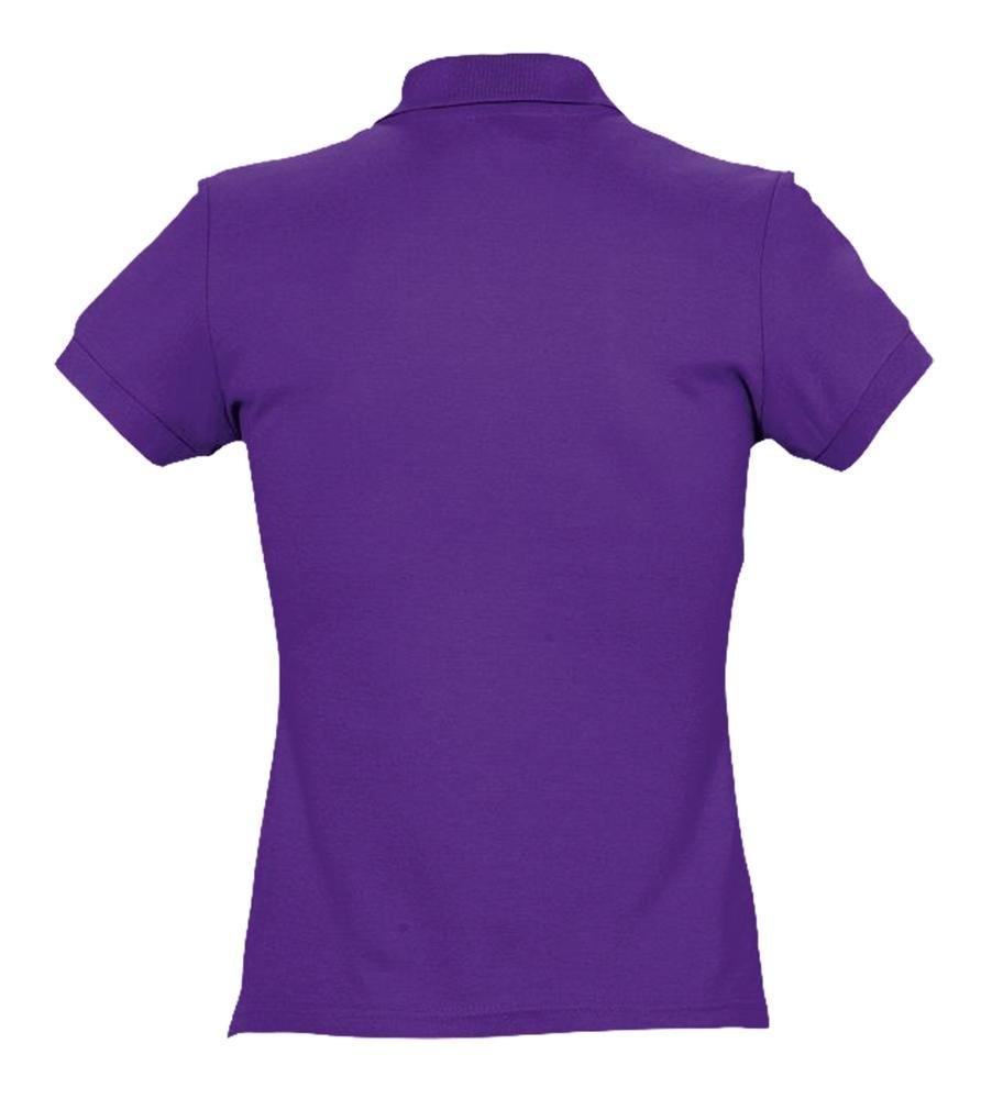 Рубашка поло женская Passion 170, темно-фиолетовая - 2