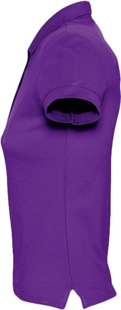 Рубашка поло женская Passion 170, темно-фиолетовая - 3