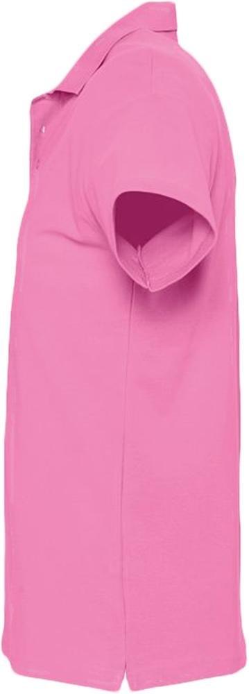 Рубашка поло мужская Spring 210, розовая - 2