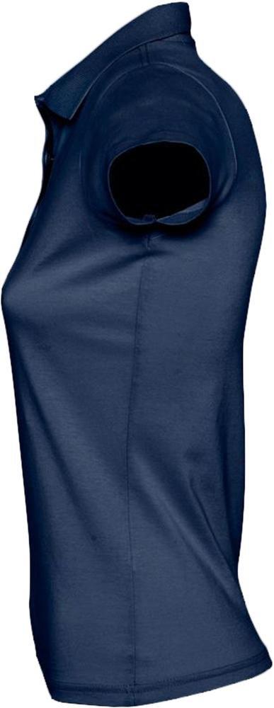 Рубашка поло женская Prescott Women 170, темно-синяя - 4
