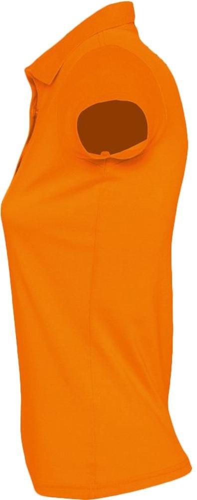 Рубашка поло женская Prescott Women 170, оранжевая - 4