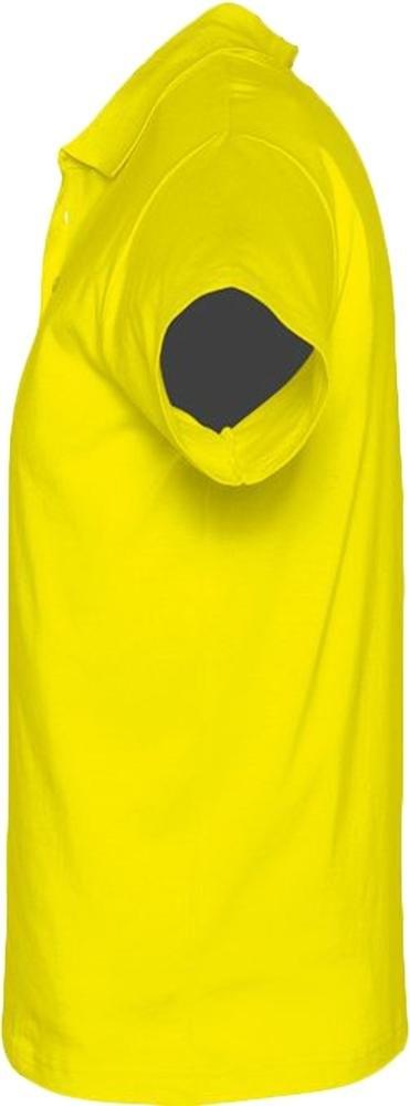 Рубашка поло мужская Prescott Men 170, желтая (лимонная) - 2