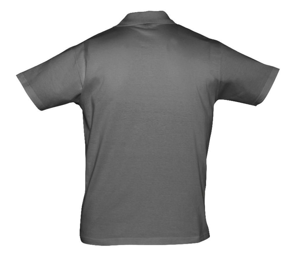 Рубашка поло мужская Prescott Men 170, темно-серая - 1