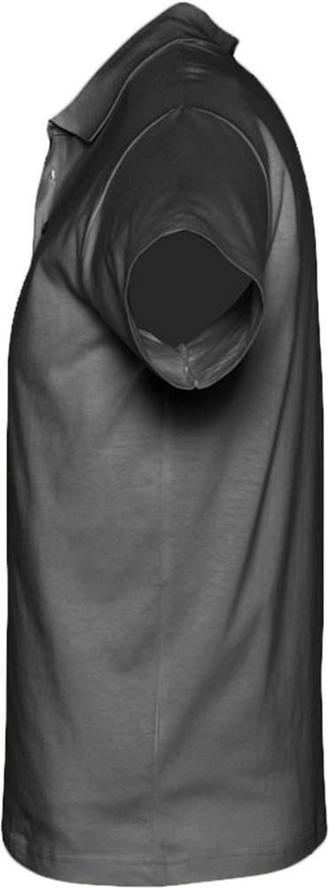 Рубашка поло мужская Prescott Men 170, темно-серая - 2