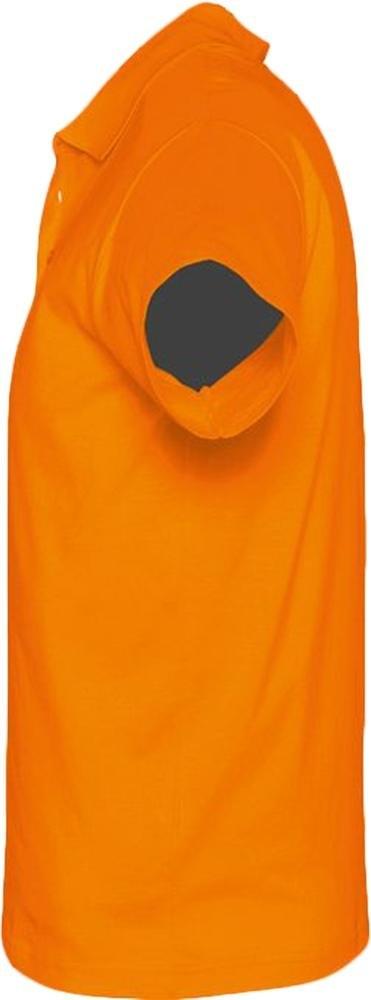 Рубашка поло мужская Prescott Men 170, оранжевая - 2
