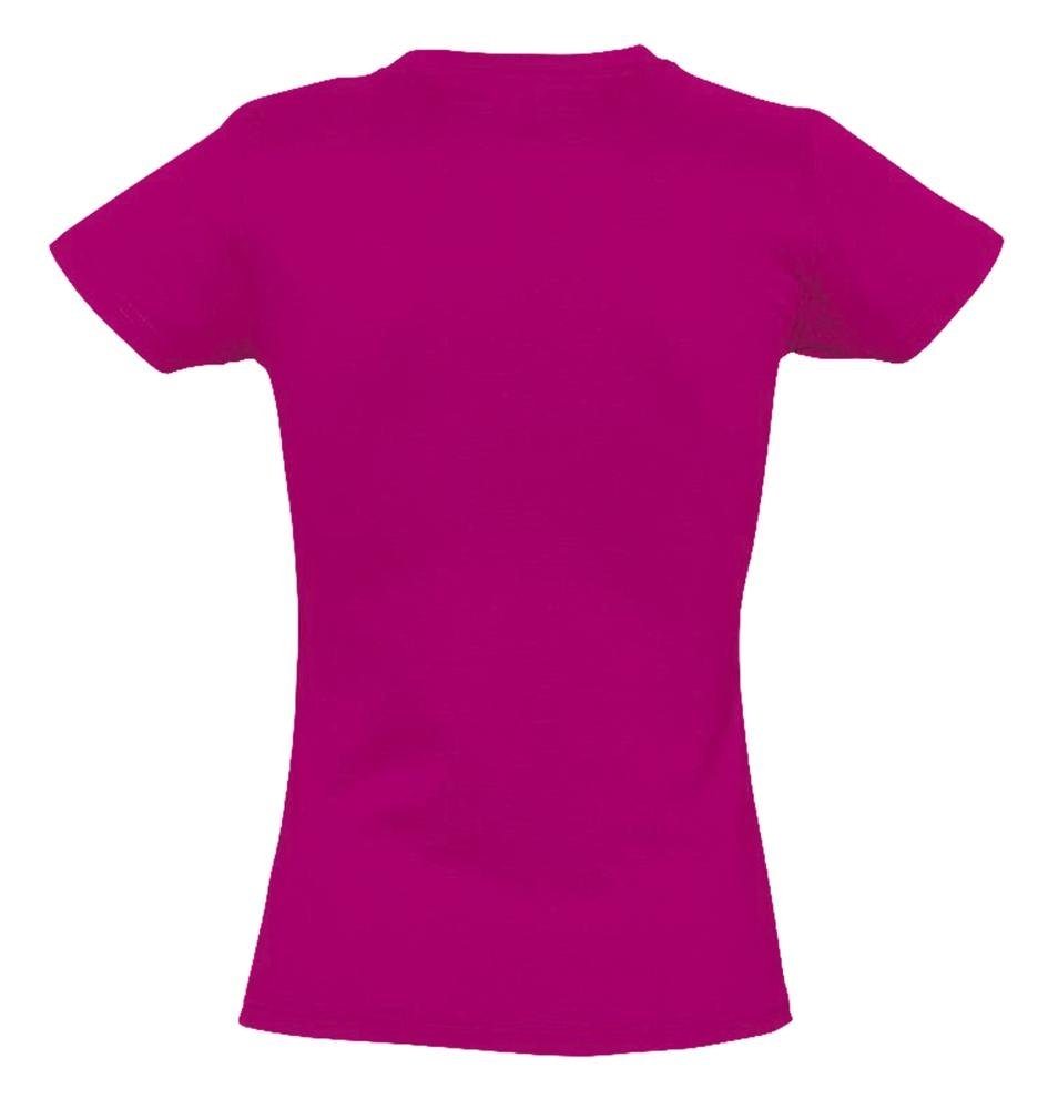 Футболка женская Imperial Women 190, ярко-розовая (фуксия) - 1