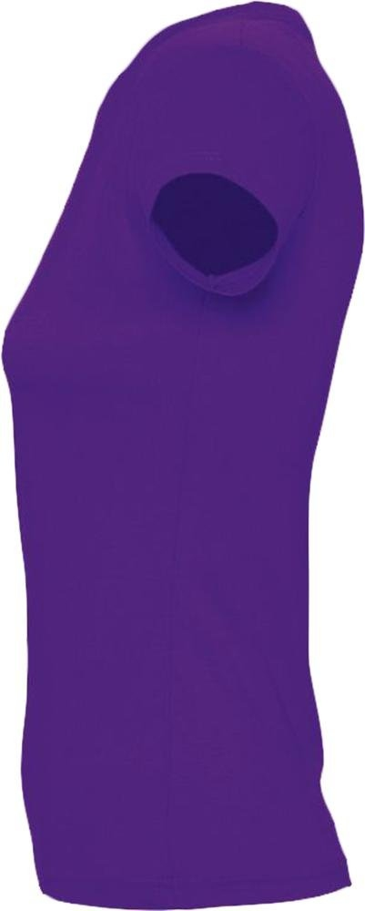 Футболка женская Imperial Women 190, темно-фиолетовая - 2