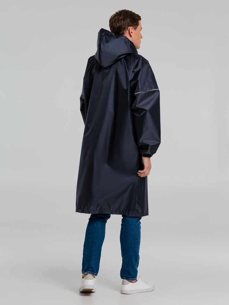Дождевик со светоотражающими элементами Rainman Blink, темно-синий - 7