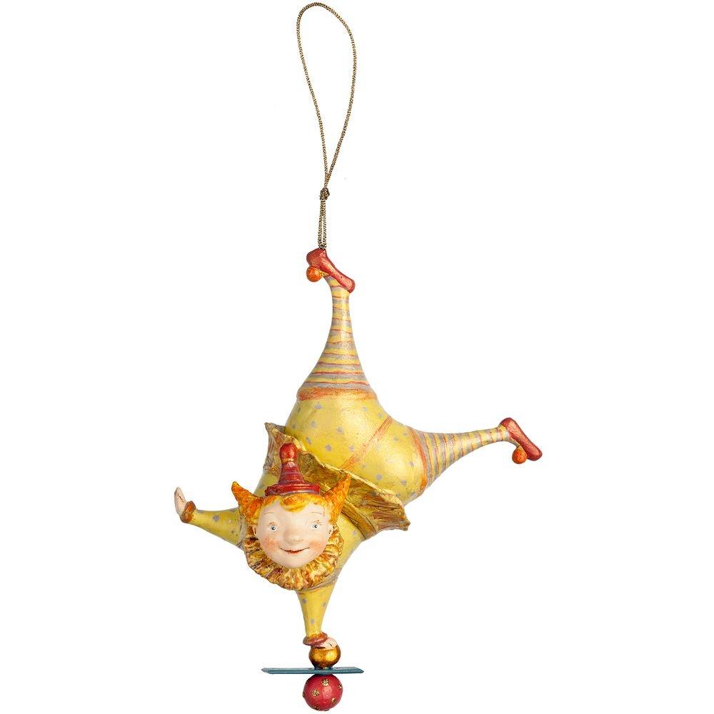 Набор из 3 елочных игрушек Circus Collection: барабанщик, акробат и слон - 15