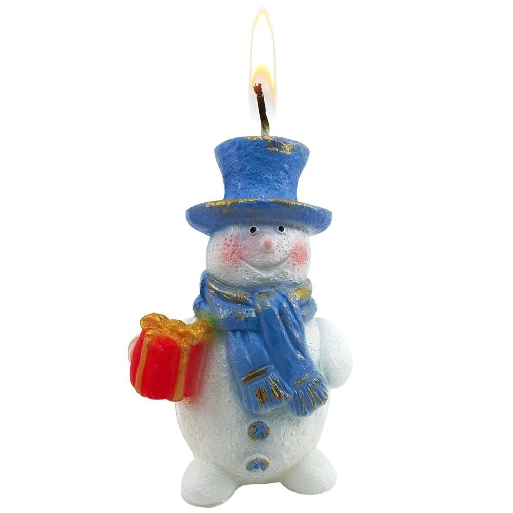Свеча «Snowman» - 4