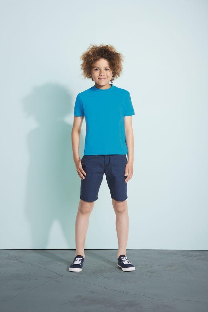 Футболка детская Regent Kids 150, темно-синяя - 2