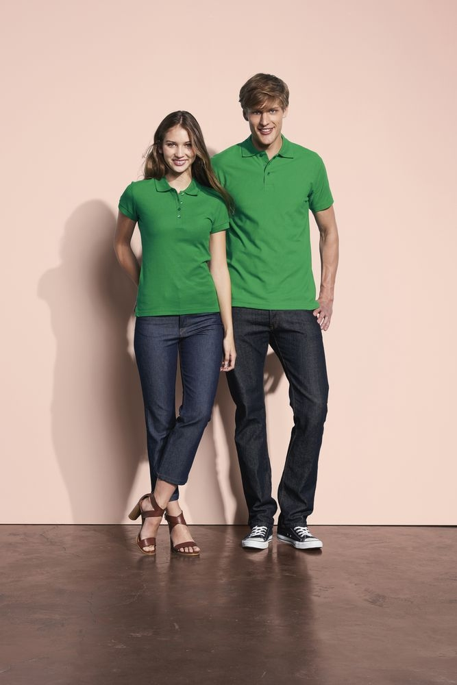 Рубашка поло мужская Spring 210, темно-серая - 5