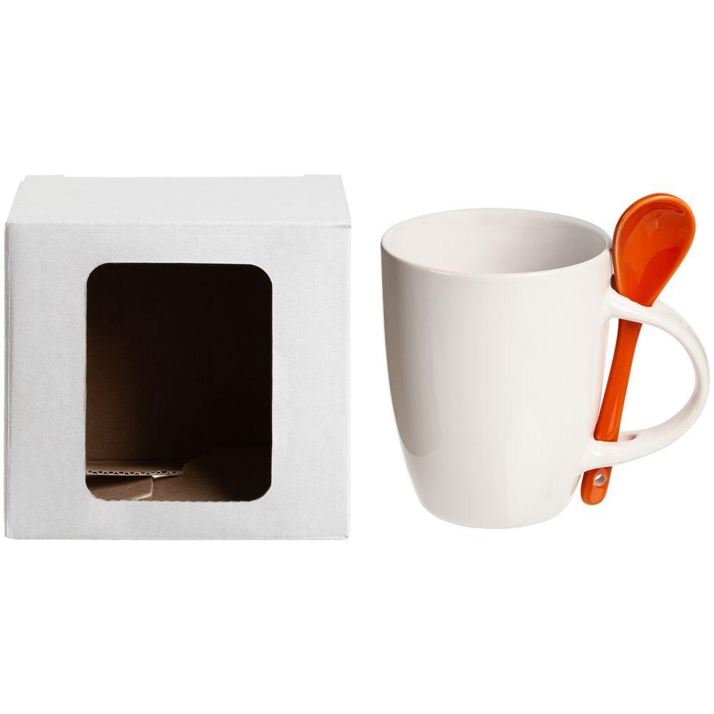 Коробка для кружки Window, белая, 11,2х9,4х10,7 см - 4