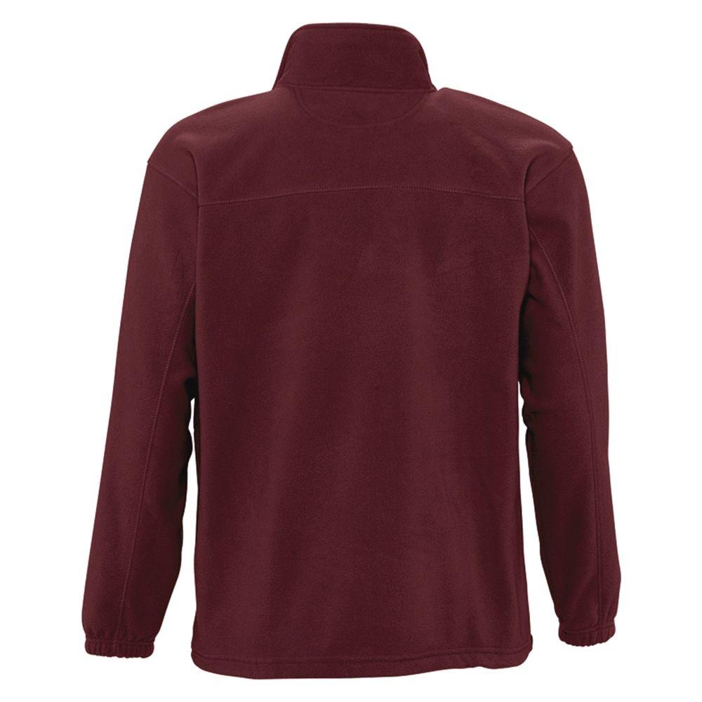 Куртка мужская North 300, бордовая - 4