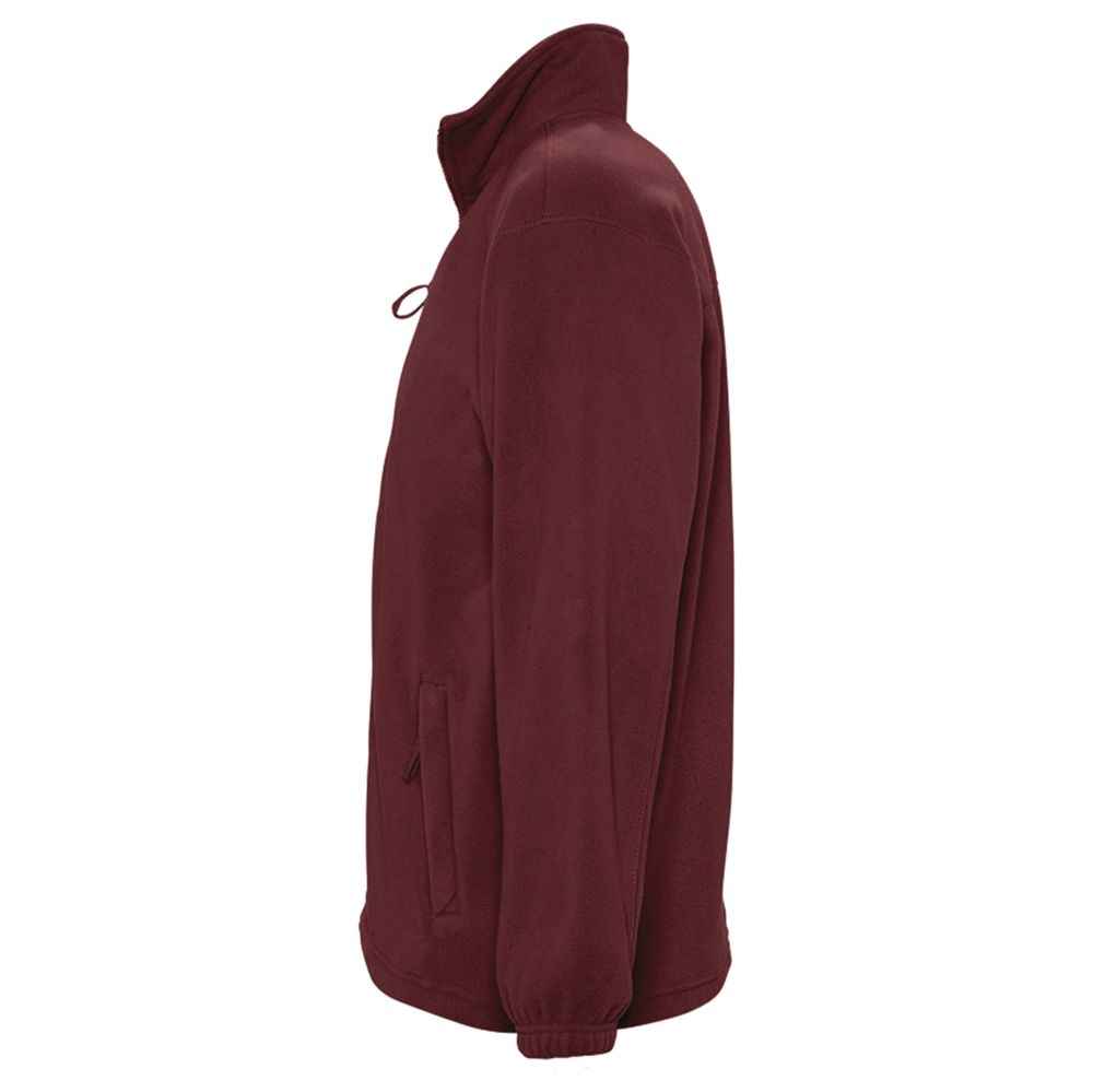 Куртка мужская North 300, бордовая - 3