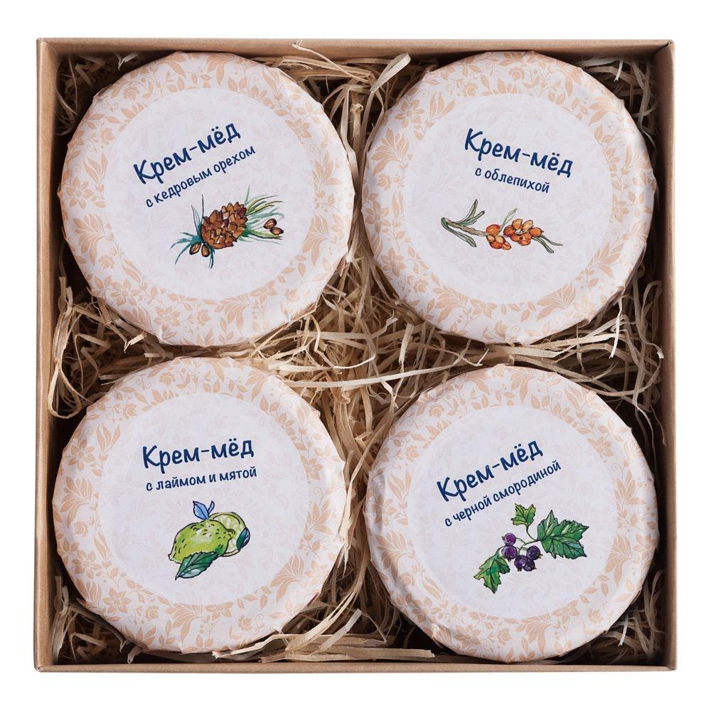 Набор Honey Cream, 4 вкуса - 3