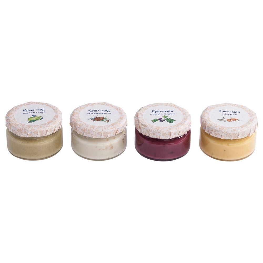 Набор Honey Cream, 4 вкуса - 4
