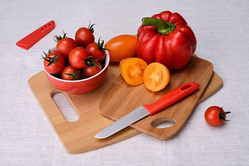 Нож кухонный Aztec, красный - 7