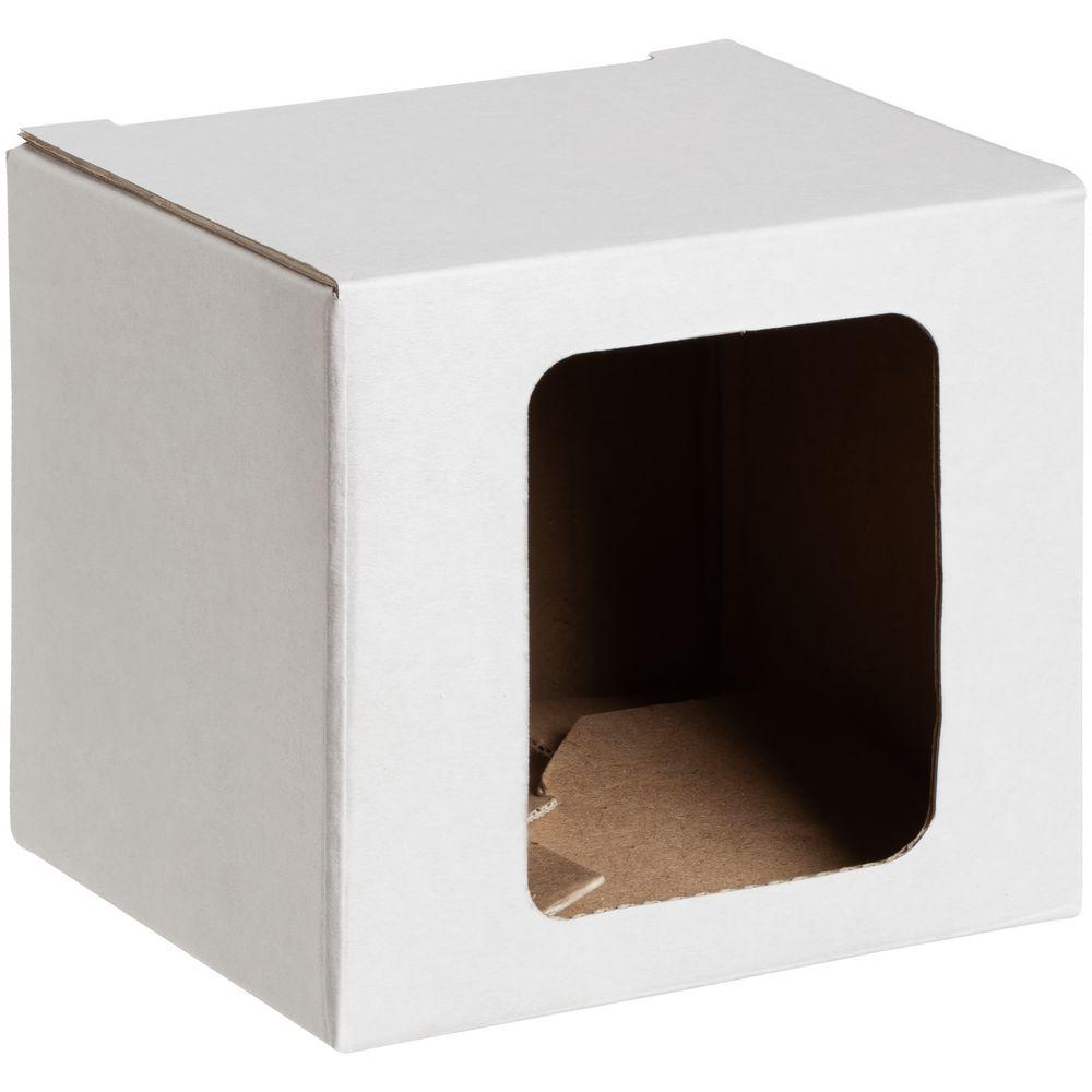 Коробка для кружки Window, белая, 11,2х9,4х10,7 см - 2
