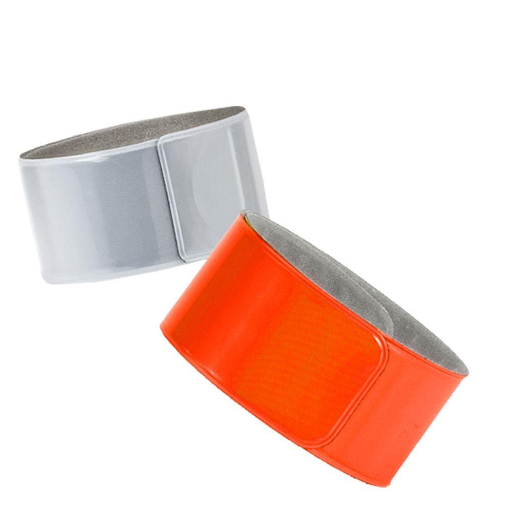 Светоотражающий браслет Lumi, оранжевый неон - 1